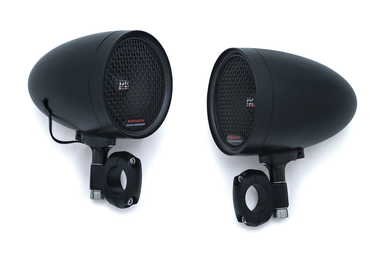 ROADTHUNDER SPEAKER PODS, SATIN BLACK