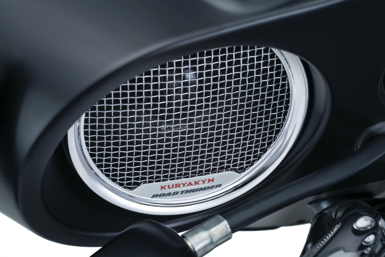 ROADTHUNDER FAIRING SPEAKER, SATIN BLACK